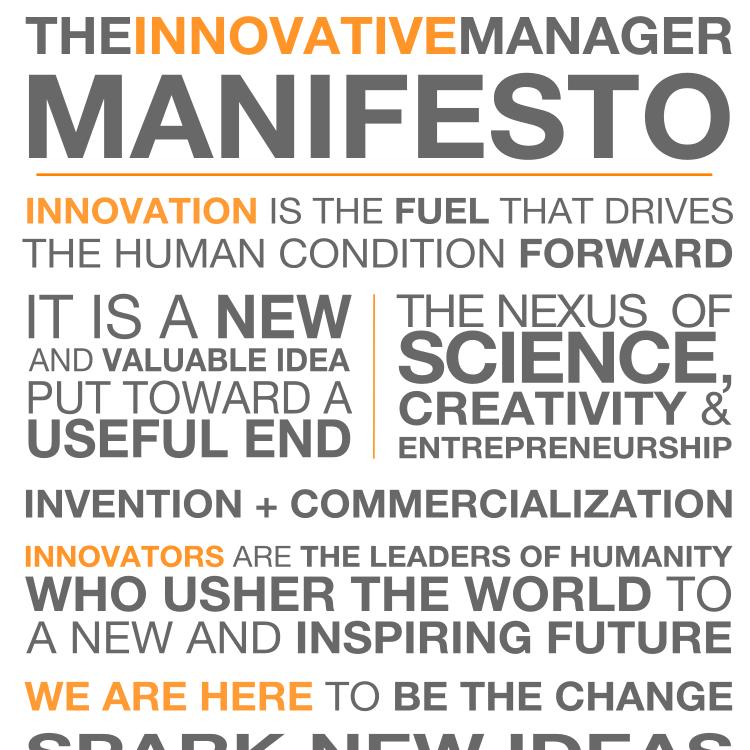 The Innovators Manifesto