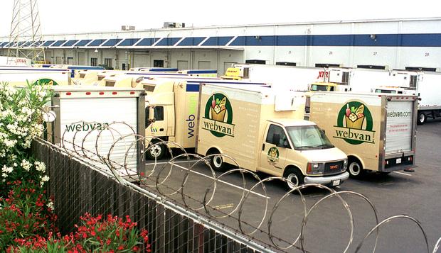 Webvan Trucks